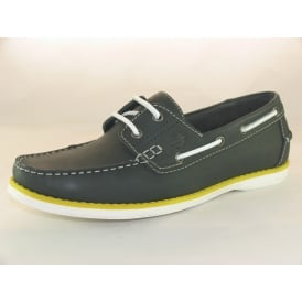 BOAT SHOE MENS CASUAL SLIP ON BOAT SHOES