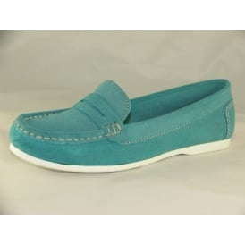 LOAFER WOMENS SLIP-ON LOAFERS