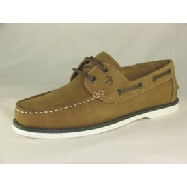 NAVIGATOR MENS LACE-UP BOAT SHOES