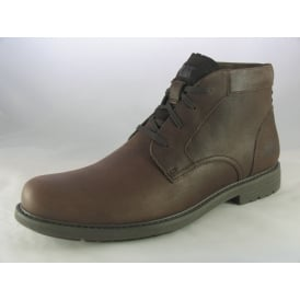 BROCK MENS LACE-UP ANKLE BOOTS