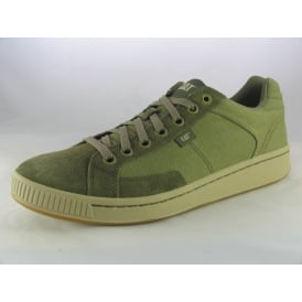 CADRE CANVAS MENS CASUAL LACE-UP TRAINERS