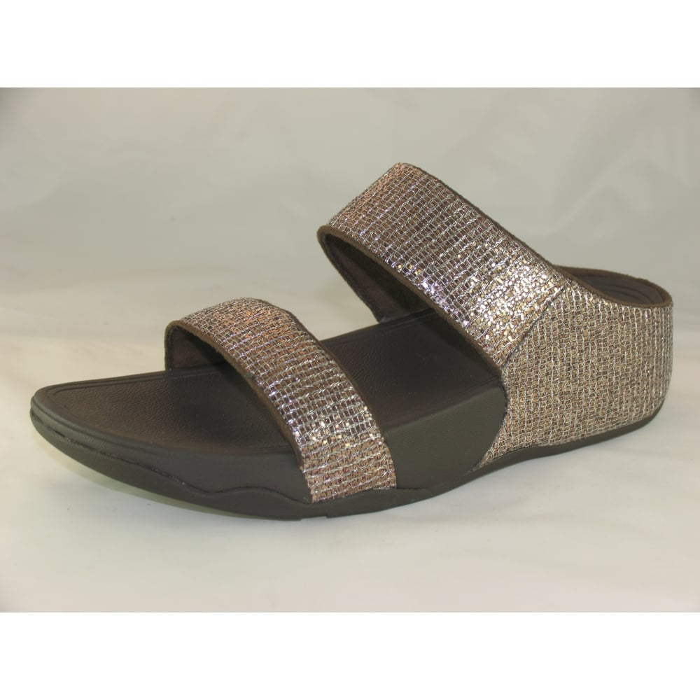 27be72a576f59f Fit Flop LULU SUPERGLITZ SLIDE OPEN-TOE SANDALS - Womens from ...