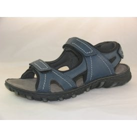 CARDIFF 08 MENS OPEN-TOE WALKING SANDALS