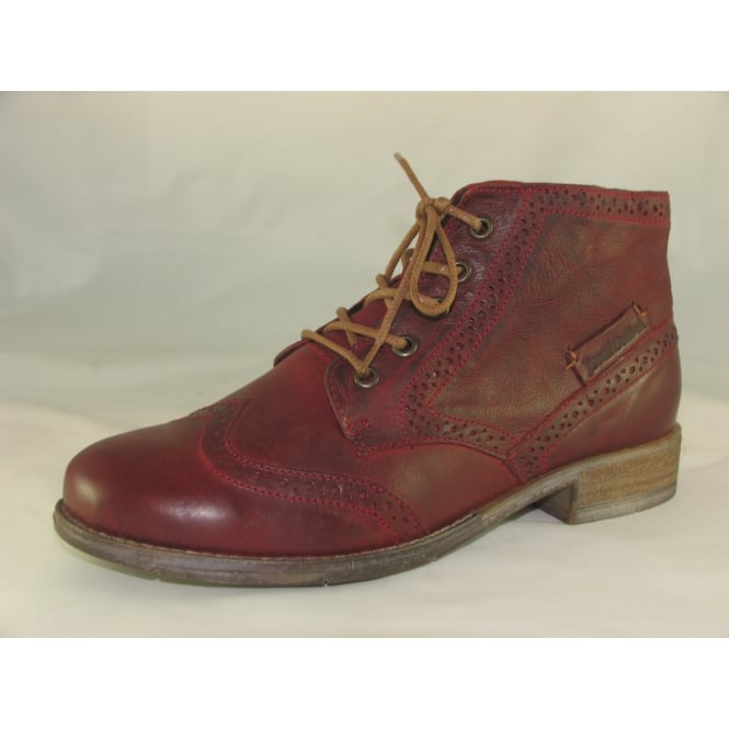 e377d0ea315 Josef Seibel SIENNA 15 WOMENS LACE-UP ANKLE BOOTS
