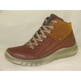 00531 MENS CASUAL LACE-UP WALKING BOOTS