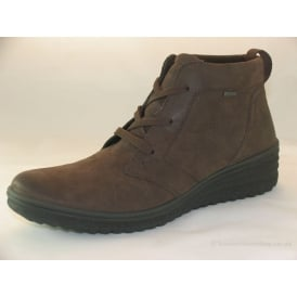 00563 MENS CASUAL LACE-UP WALKING BOOTS