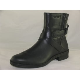00696 WOMENS CASUAL ANKLE BOOTS