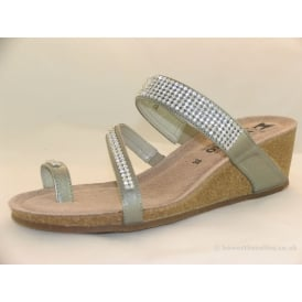 MILLY WOMENS CASUAL TOE-POST SANDALS