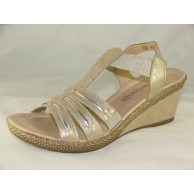 D0457 WOMENS CASUAL OPEN-TOE SANDALS