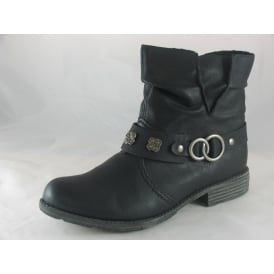 74798 WOMENS MID CALF BOOTS