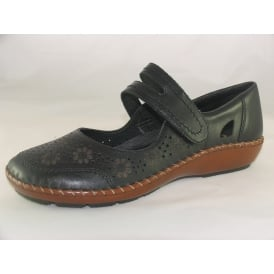 44875 WOMENS CASUAL BAR SHOES
