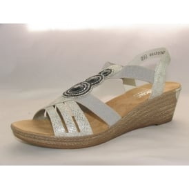 62459 WOMENS CASUAL OPEN-TOE SANDALS