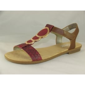 64278-35 WOMENS CASUAL OPEN-TOE SANDALS