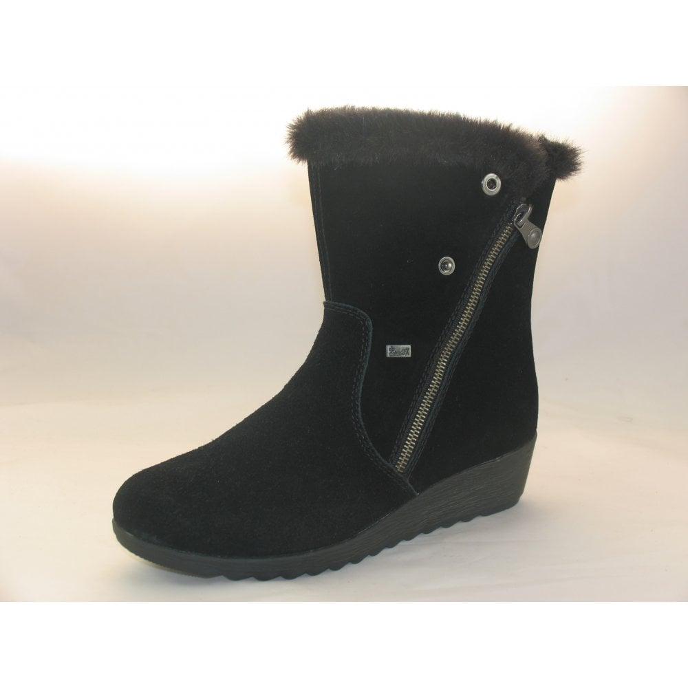 top design 16bb4 3552b Rieker X2470 WOMENS CASUAL WINTER BOOTS