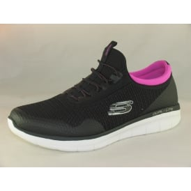 12386 WOMENS LACE UP TRAINERS