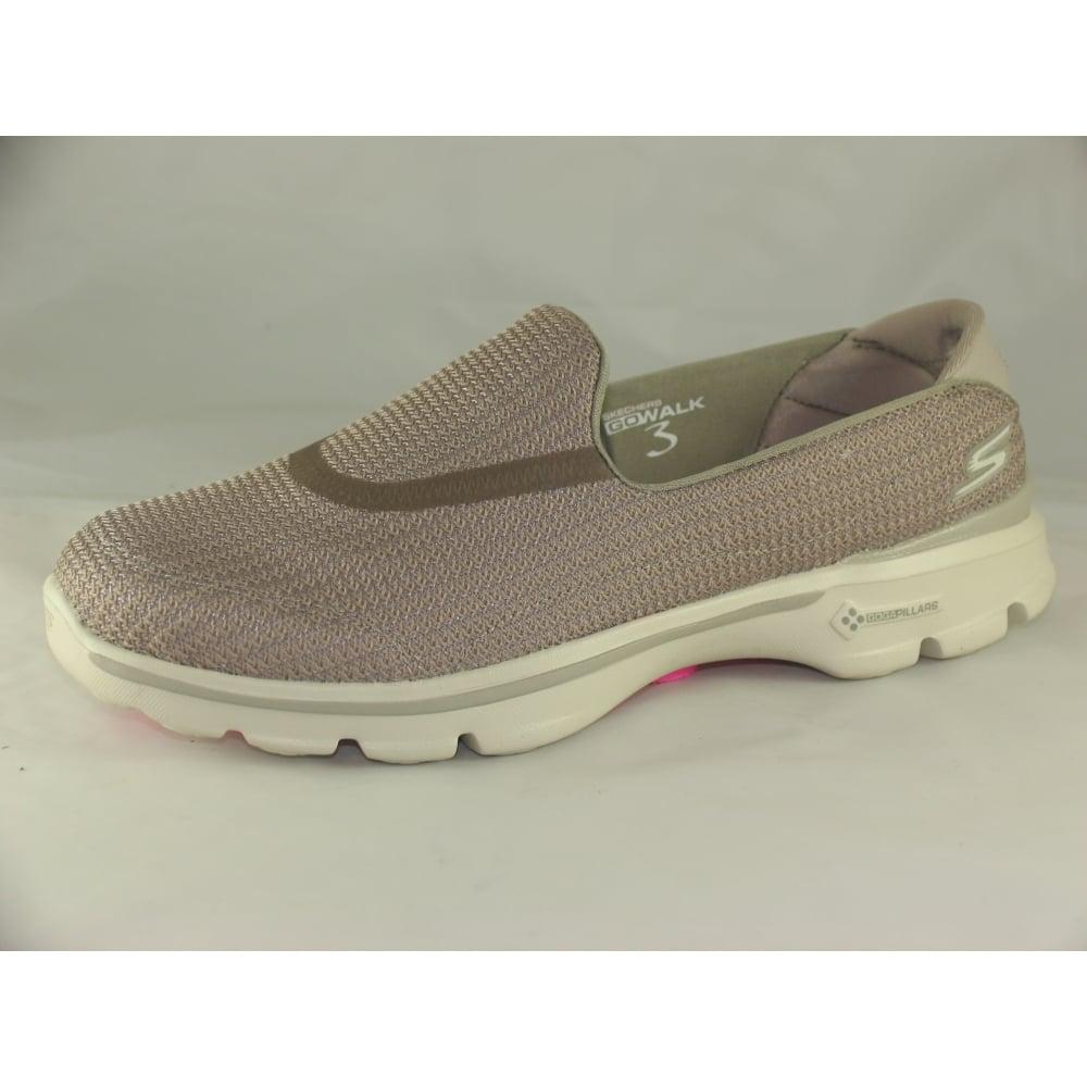 fdff025f941b Skechers 13980 WOMENS GO WALK GO WALK 3 SLIP ON TRAINERS - Womens ...
