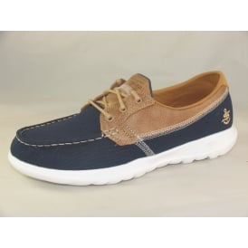 15430 WOMENS LACE BOAT SHOES