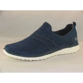 23322 WOMENS CASUAL SLIP ON TRAINERS