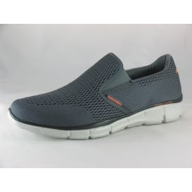 51509 MENS SLIP ON MEMORY FOAM TRAINERS