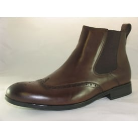 BASSETT MENS CHELSEA BOOT BROGUES