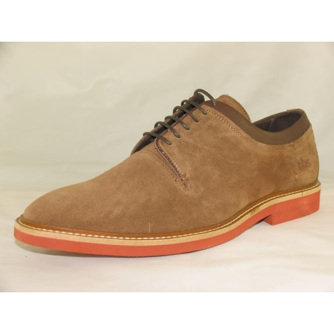TBS MATTHEW MENS SUEDE LACE UP SHOES