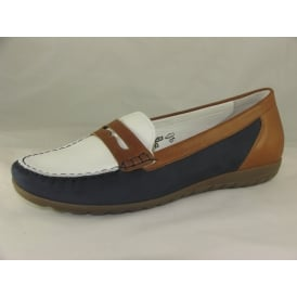 329503 WOMENS SLIP ON MOCCASIN SHOES